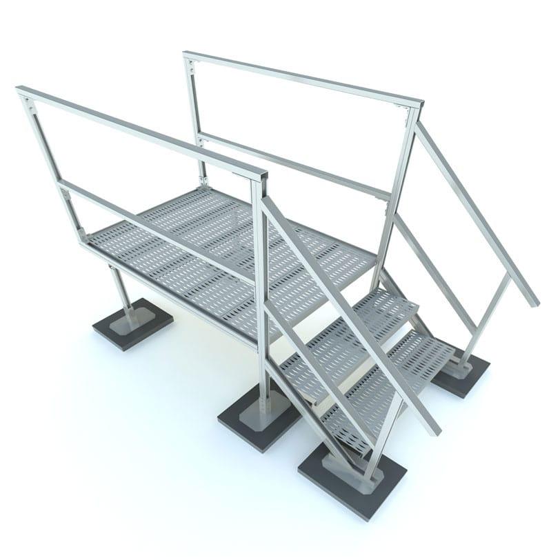 RTSAP-END Rooftop End Access Platform