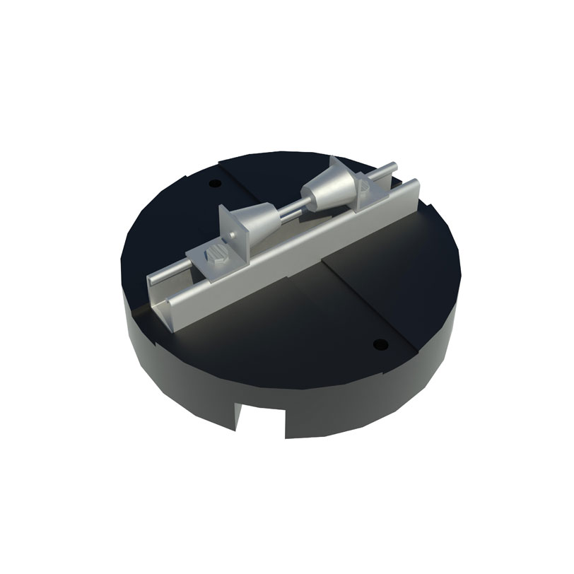 RTSPUC1R Rooftop PUC Pipe Roller Support