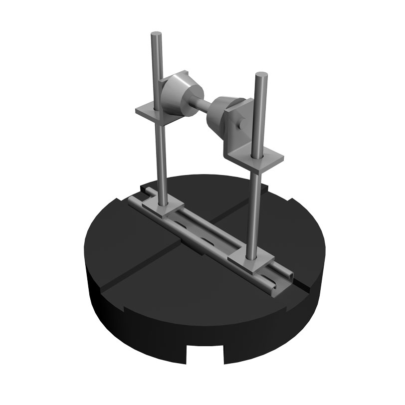 RTSPUCESR Elevated Roof Pipe Roller Support