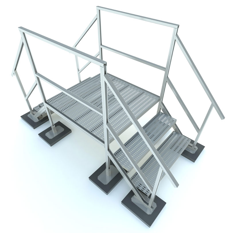 RTSCOW Crossover Roof Stairs