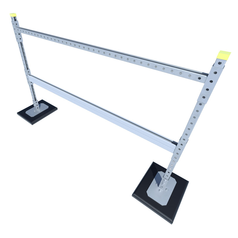 RTSH-D H-Stand Pipe and Duct Support with Double Cross Brace