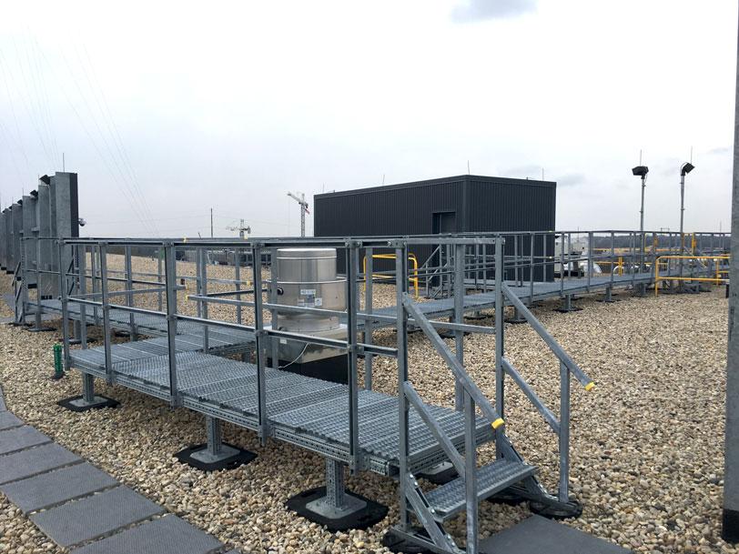 custom rooftop walkway system